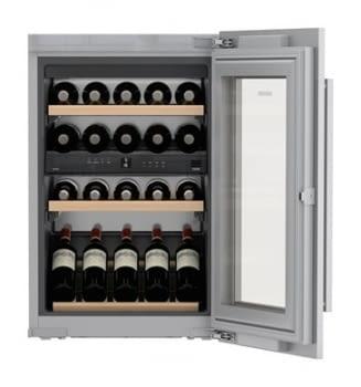 Vinoteca Liebherr EWTdf-1653 empotrable | 88X56X55cm | Frío ventilado / 2 zonas temp. | Marco frontal puerta Integrable | 97 L |Clase G