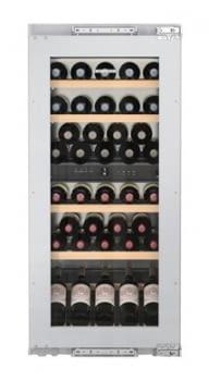 Vinoteca Liebherr EWTdf-2353 empotrable | 122X56X55cms | Frío ventilado / 2 zonas temp. | 158 L | Marco frontal puerta Integrable | Clase G