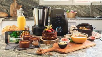 Robot de Cocina Cecotec Mambo 9590 | Bascula integrada | 30 funciones | Recetario | referencia 4150 - 4