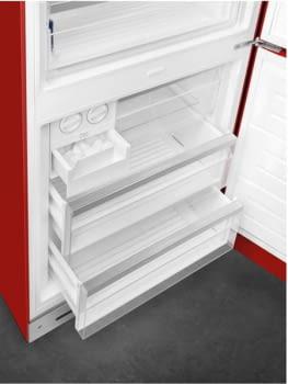 Frigorífico Combi Rojo Smeg FAB38RRD5   2050x706x711mm   NoFrost   Clase E - 5