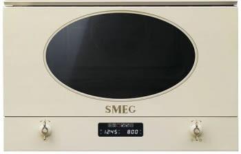 Microondas Colonial Smeg Integrable MP822PO Crema   6 funiones   850 W Micro   1250W Grill