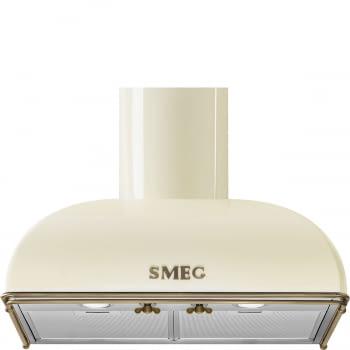 Campana Colonial Smeg KS59POE2 Crema de 60cm | Aspiración 820 m3/h | Clase A - 1