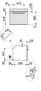 Horno Multifunción Smeg SF6922PPZE1 Crema | Victoria | Retro | 60cm | Termoventilado | VaporClean - 4