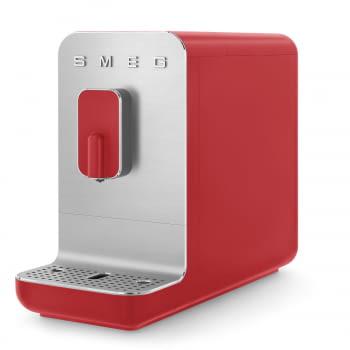 Cafetera Roja Smeg BCC01RDMEU 50'Style con Molinillo Integrado  1 Tipo de Té & 7 de Café   Sistema Anti-Goteo   100% Automática - 3