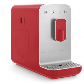 Cafetera Roja Smeg BCC01RDMEU 50'Style con Molinillo Integrado  1 Tipo de Té & 7 de Café   Sistema Anti-Goteo   100% Automática - 4