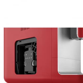 Cafetera Roja Smeg BCC01RDMEU 50'Style con Molinillo Integrado  1 Tipo de Té & 7 de Café   Sistema Anti-Goteo   100% Automática - 8