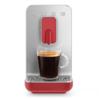 Cafetera Roja Smeg BCC01RDMEU 50'Style con Molinillo Integrado  1 Tipo de Té & 7 de Café   Sistema Anti-Goteo   100% Automática - 9