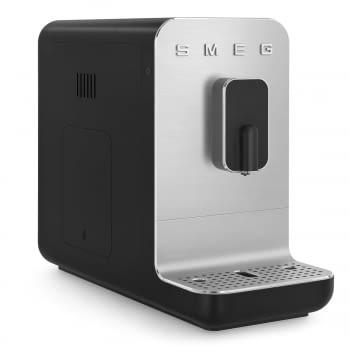 Cafetera Negra Smeg BCC01BLMEU 50'Style con Molinillo Integrado  1 Tipo de Té & 7 de Café   Sistema Anti-Goteo   100% Automática - 3