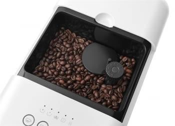 Cafetera Blanca Smeg BCC01WHMEU 50'Style con Molinillo Integrado |1 Tipo de Té & 7 de Café | Sistema Anti-Goteo | 100% Automática - 2