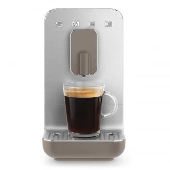 Cafetera Taupe Smeg BCC01TPMEU 50'Style con Molinillo Integrado |1 Tipo de Té & 7 de Café | Sistema Anti-Goteo | 100% Automática - 1