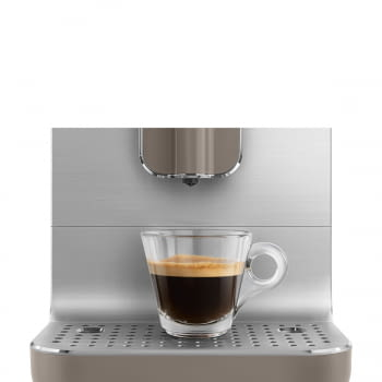 Cafetera Taupe Smeg BCC01TPMEU 50'Style con Molinillo Integrado |1 Tipo de Té & 7 de Café | Sistema Anti-Goteo | 100% Automática - 8