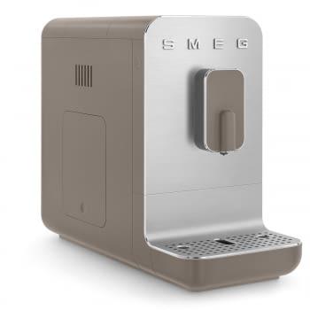 Cafetera Taupe Smeg BCC01TPMEU 50'Style con Molinillo Integrado |1 Tipo de Té & 7 de Café | Sistema Anti-Goteo | 100% Automática - 11
