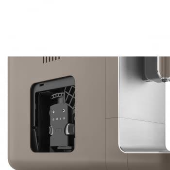 Cafetera Taupe Smeg BCC01TPMEU 50'Style con Molinillo Integrado |1 Tipo de Té & 7 de Café | Sistema Anti-Goteo | 100% Automática - 12