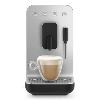 Cafetera Smeg Negra BCC02BLMEU 50'Style con Vaporizador y Molinillo Integrado   8 funciones y función vapor   Sistema Anti-Goteo   100% Automática - 4
