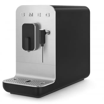 Cafetera Smeg Negra BCC02BLMEU 50'Style con Vaporizador y Molinillo Integrado   8 funciones y función vapor   Sistema Anti-Goteo   100% Automática - 6