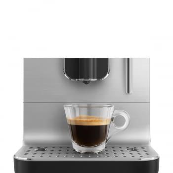 Cafetera Smeg Negra BCC02BLMEU 50'Style con Vaporizador y Molinillo Integrado   8 funciones y función vapor   Sistema Anti-Goteo   100% Automática - 10