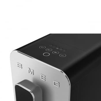Cafetera Smeg Negra BCC02BLMEU 50'Style con Vaporizador y Molinillo Integrado   8 funciones y función vapor   Sistema Anti-Goteo   100% Automática - 11