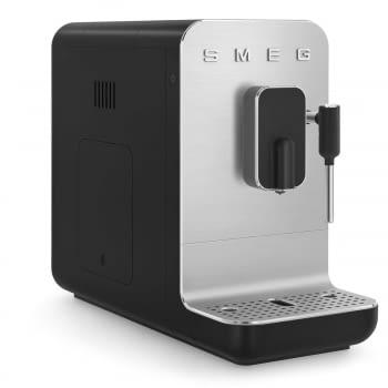 Cafetera Smeg Negra BCC02BLMEU 50'Style con Vaporizador y Molinillo Integrado   8 funciones y función vapor   Sistema Anti-Goteo   100% Automática - 12