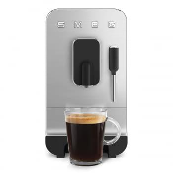 Cafetera Smeg Negra BCC02BLMEU 50'Style con Vaporizador y Molinillo Integrado   8 funciones y función vapor   Sistema Anti-Goteo   100% Automática - 13