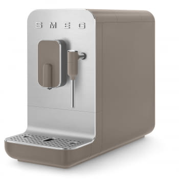 Cafetera Smeg Taupe BCC02TPMEU 50'Style con Vaporizador y Molinillo Integrado | 8 funciones y función vapor | Sistema Anti-Goteo | 100% Automática - 3
