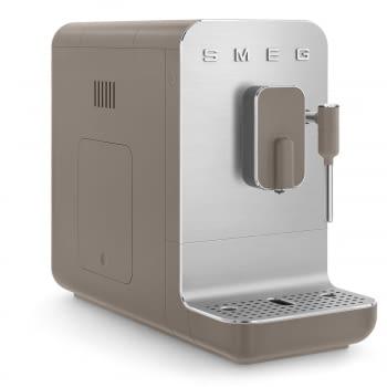 Cafetera Smeg Taupe BCC02TPMEU 50'Style con Vaporizador y Molinillo Integrado | 8 funciones y función vapor | Sistema Anti-Goteo | 100% Automática - 11