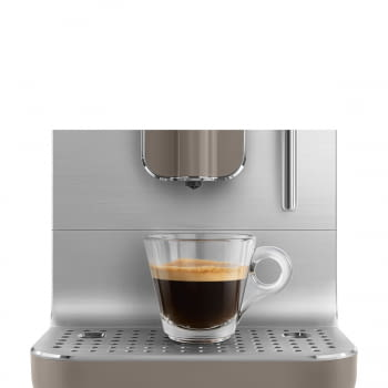 Cafetera Smeg Taupe BCC02TPMEU 50'Style con Vaporizador y Molinillo Integrado | 8 funciones y función vapor | Sistema Anti-Goteo | 100% Automática - 13