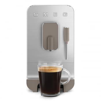 Cafetera Smeg Taupe BCC02TPMEU 50'Style con Vaporizador y Molinillo Integrado | 8 funciones y función vapor | Sistema Anti-Goteo | 100% Automática - 14