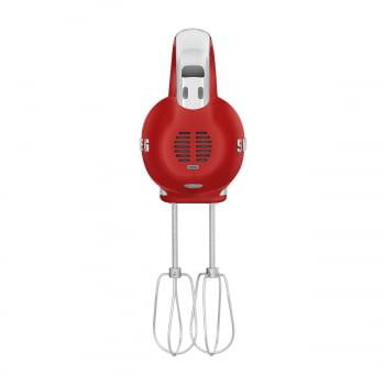 Batidora de Mano Smeg HMF01RDEU Roja | Amasadora de Varillas | 9 niveles de Velocidad | 50' Style - 6