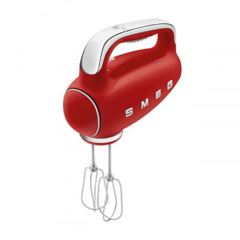 Batidora de Mano Smeg HMF01RDEU Roja | Amasadora de Varillas | 9 niveles de Velocidad | 50' Style - 9