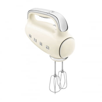 Batidora de Mano Smeg HMF01CREU Crema | Amasadora de Varillas | 9 niveles de Velocidad | 50' Style
