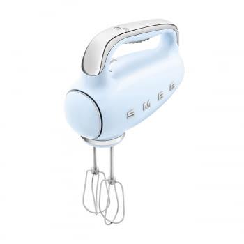 Batidora de Mano Smeg HMF01PBEU Azul pastel | Amasadora de Varillas | 9 niveles de Velocidad | 50' Style - 8