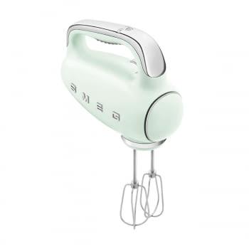 Batidora de Mano Smeg HMF01PGEU Verde pastel |  Amasadora de Varillas | 9 niveles de Velocidad | 50' Style