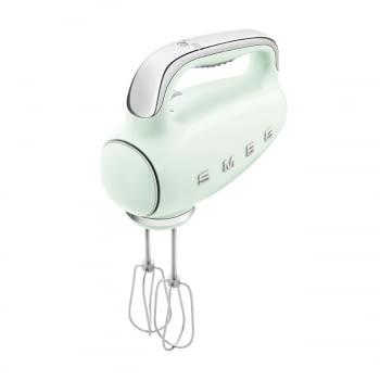 Batidora de Mano Smeg HMF01PGEU Verde pastel |  Amasadora de Varillas | 9 niveles de Velocidad | 50' Style - 8