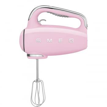 Batidora de Mano Smeg HMF01PKEU Rosa |Amasadora de Varillas | 9 niveles de Velocidad | 50' Style - 2