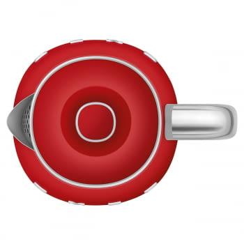 Hervidor Smeg KLF05RDEU en Rojo | de 0.8 Litros | 3 tazas | Potencia de 1400W - 5
