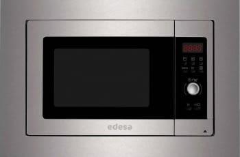 Microondas Integrable EDESA EMW-2320-I X | Marco Inox integrado | 23L | 390x592x382mm