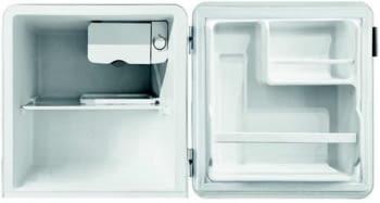 Frigorífico Una Puerta Edesa EFS-0411 WH Blanco | Table Top Retro | Cíclico | 85cm | Clase F - 2