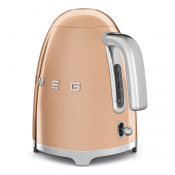 Hervidor Smeg KLF03RGEU en Oro Rosa | de 1.7 Litros | Máx. 100ºC con apagado automático - 5