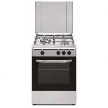 Cocina de Gas Butano de 3 Zonas de Acero Inoxidable Vitrokitchen CB5530IB | 3 fuegos + Triple Aro | 85x50x55cm