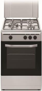 Cocina Gas Natural Vitrokitchen CB5530IN | 3 Fuegos | 85x50x55cm | Inox