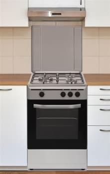 Cocina Gas Natural Vitrokitchen CB5530IN   3 Fuegos   85x50x55cm   Inox - 2