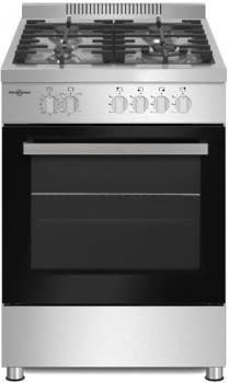 Cocina Gas Natural Profesional Vitrokitchen PF6060IN | 4 Fuegos | 60cm | Inox - 1