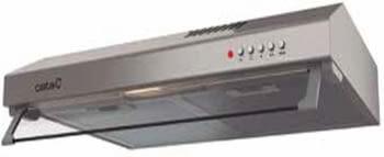 Campana de pared Convencional Cata LF-2060 X | 60cm | 69 dB | 195 m³/h | Inox