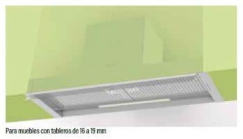 Grupo Filtrante Cata Corona 60   3 niveles de extracción   Visera Cristal   INOX - 2