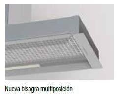 Grupo Filtrante Cata Corona 60   3 niveles de extracción   Visera Cristal   INOX - 3