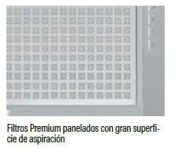 Grupo Filtrante Cata Corona 60   3 niveles de extracción   Visera Cristal   INOX - 4