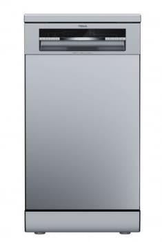 Lavavajillas libre instalacion Teka DFS 44750 Inox | 45cm | 10 cubiertos | 7 programas | Clase E