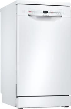 Lavavajillas Bosch SRS2IKW04E Blanco de 45cm   9 Servicios   Motor EcoSilence   Programa Automático   Serie 2   Clase F