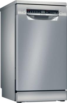 Lavavajillas Bosch SRS4HMI61E Inox de 45cm | 10 Servicios | 3ª Bandeja | 6 programas | Motor EcoSilence | Programa Automático | Serie 4 | Clase E