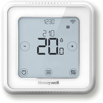 Honeywell CronoTermostato Wifi Lyric T6 Color Blanco | Termostato Programable y con Geolocalización | Conexión Hilar a Pared | Stock - 2